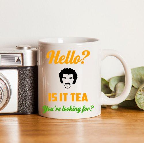 Hello is it Tea Mug