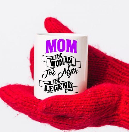 Mom The Legend Mug