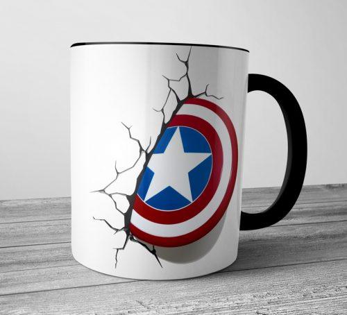 Captain America Colored Mugs