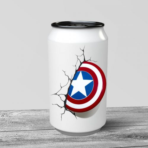 Captain America Can