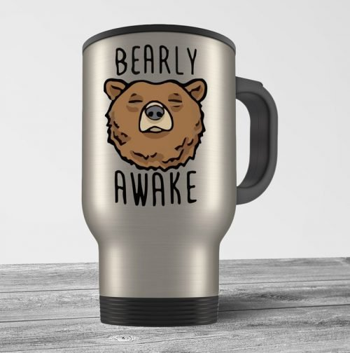 Bearly Awake Travel Mug