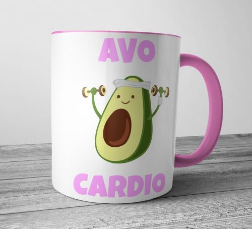 Avo Cardio Colored Mugs