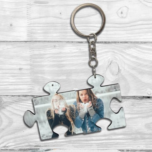 Puzzle Keychain