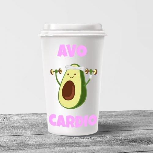 Avo Cardio Tumbler Mug