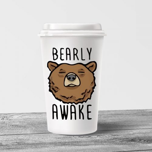 Bearly Awake Tumbler Mug