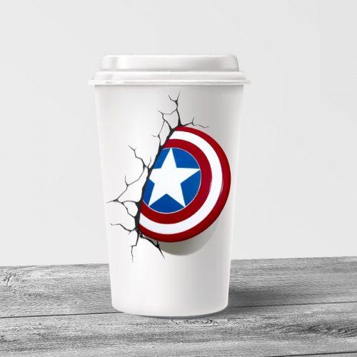Captain America Tumbler Mug
