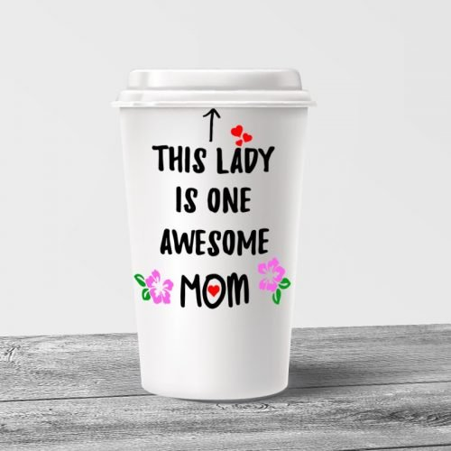 Awesome Mom Tumbler Mug