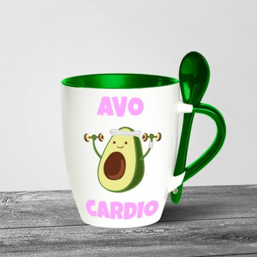 Avo Cardio Spoon Mugs