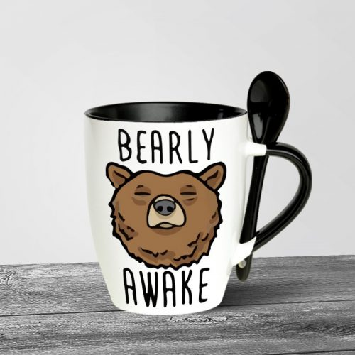 Bearly Awake Spoon Mugs