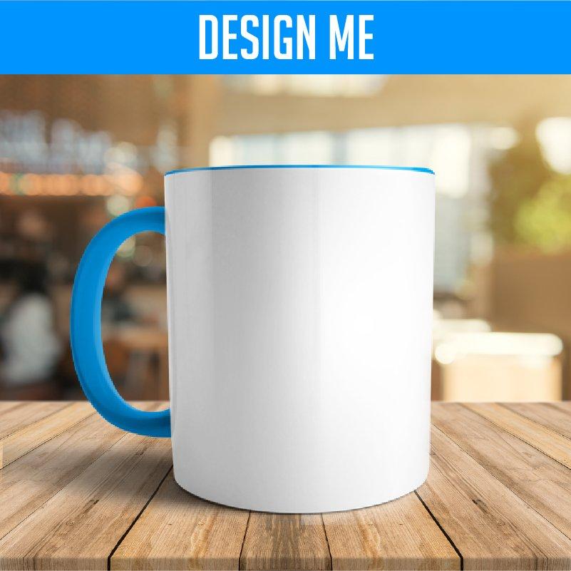 Colored Mug - Customizable